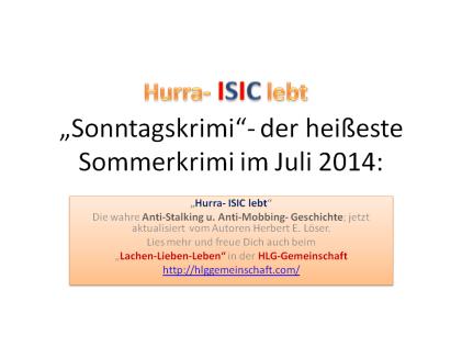 Der heisseste Sommerkrimi im Juli 2014